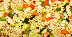 Healthy Italian Dressing Pasta Salad Recipe