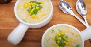 Homemade Chicken And Corn Soup