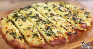 Low-Carb Garlic Bread Recipe