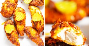 Nashville Style Air Fryer Hot Chicken Recipe