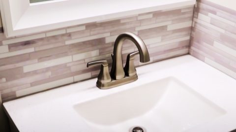 DIY Peel And Stick Backsplash | DIY Joy Projects and Crafts Ideas