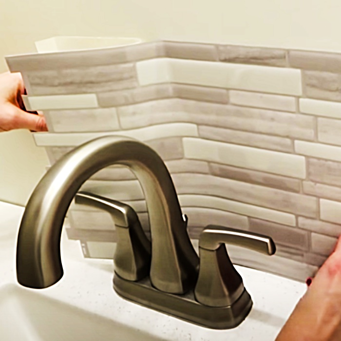 Bathroom Remodel Ideas - New Backsplash Ideas - Easy Home Hacks