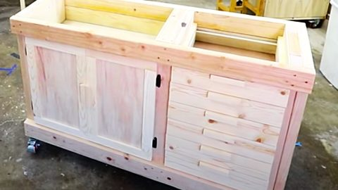 How To Make Make Frame And Panel Cabinet Doors | DIY Joy Projects and Crafts Ideas