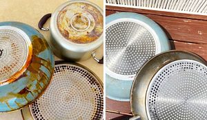 Easy Way To Clean Burnt Pots And Pans