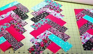 How To Sew Jelly Roll French Quilt Braids