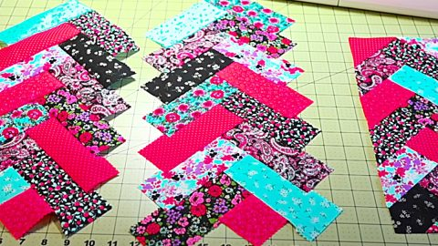 How To Sew Jelly Roll French Quilt Braids | DIY Joy Projects and Crafts Ideas