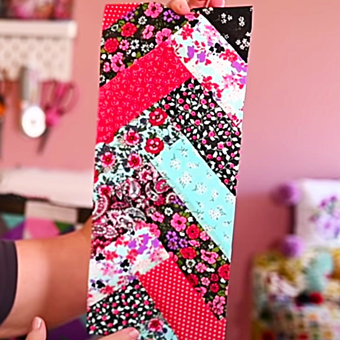 How To Make French Braid Quilting Project - Easy Quilting Ideas - Jelly Roll Quilt Ideas