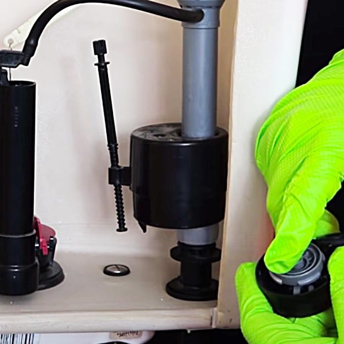 Easy Toilet Repair - Water Saving Toilet Repair - Cheap DIY Toilet Repair