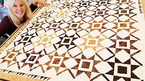 New Year Star Quilt With Free Pattern | DIY Joy Projects and Crafts Ideas