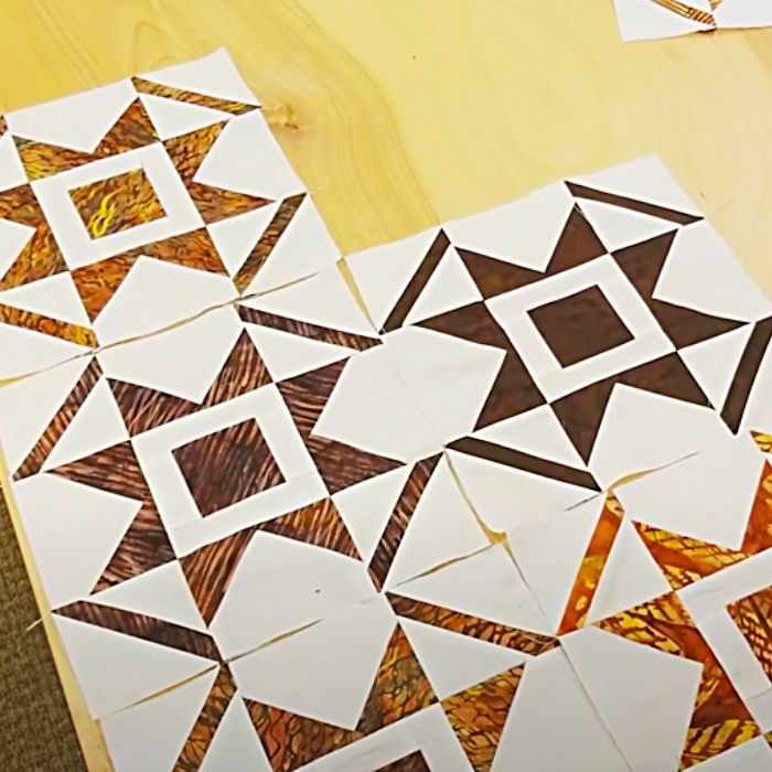 How To Sew A Quilt - Star Quilt Pattern - Free Donna Jordan Quilt Pattern