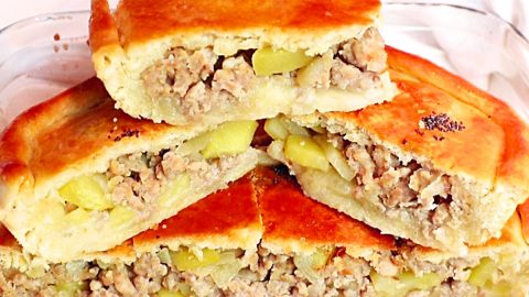 Ground Beef And Potato Stuffed Pockets Recipe | DIY Joy Projects and Crafts Ideas