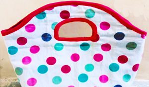 How To Sew An Easy One-Piece Quilted Purse