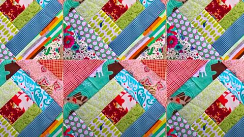 How To Make An 8-Minute Quilt Block | DIY Joy Projects and Crafts Ideas