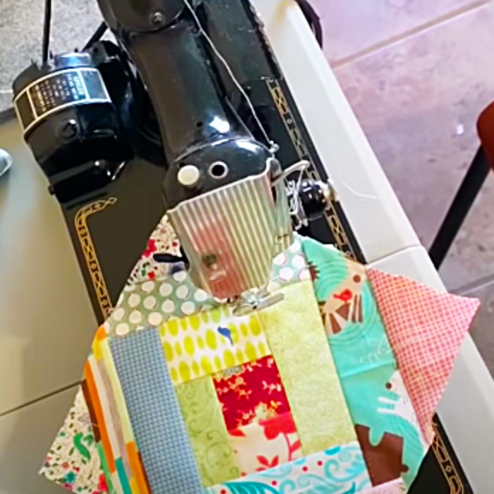 How To Make A Quick Scrappy Quilt Block - Easy Quilt Block Pattern - Easy Quilting Ideas