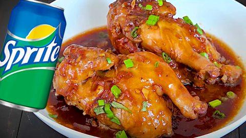 Sprite Braised Chicken Recipe | DIY Joy Projects and Crafts Ideas