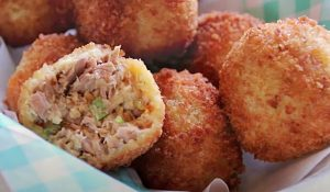 Cheesy Tuna Balls Recipe