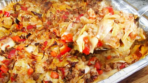 Beef And Cabbage Casserole Recipe | DIY Joy Projects and Crafts Ideas