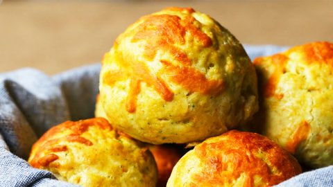 Gravy-Stuffed Cheddar Biscuit Bombs Recipe | DIY Joy Projects and Crafts Ideas