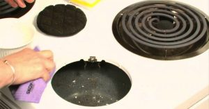 How To Clean Baked On Stains Off Enamel Stove Top