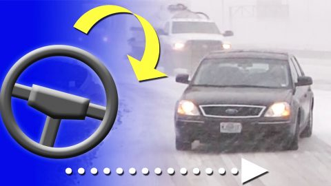 How To Correct And Prevent A Slide On An Icy Road | DIY Joy Projects and Crafts Ideas