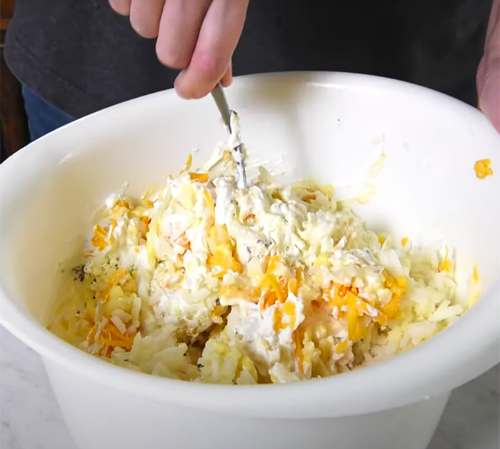 Corn Flakes Casserole - How To Make Funeral Potatoes - Old School Recipes - Cheesy Hash brown