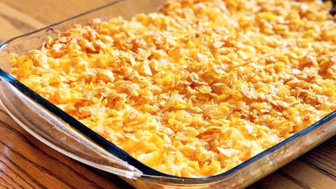 Old School Cheesy Hash Brown Casserole Recipe   DIY Joy Projects and Crafts Ideas