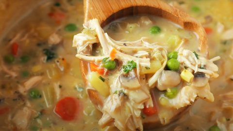 One Pot Chicken Pot Pie Recipe | DIY Joy Projects and Crafts Ideas