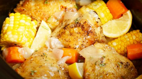 Slow Cooker Chicken Thighs Recipe | DIY Joy Projects and Crafts Ideas