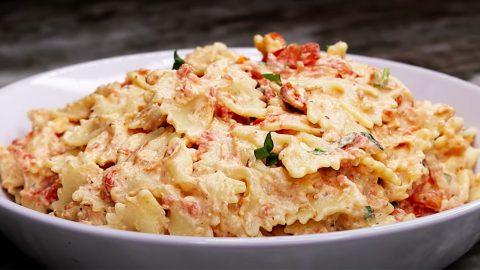 Viral TikTok Baked Feta Pasta Recipe   DIY Joy Projects and Crafts Ideas