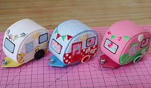 How To Make A Vintage Camper Pincushion With Free Pattern