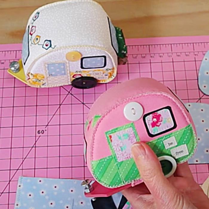 Easy Sewing Pattern - Free Sewing Pattern - Vintage Camper Free Pattern