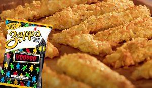 Potato Chip Crusted Chicken Fingers Recipe