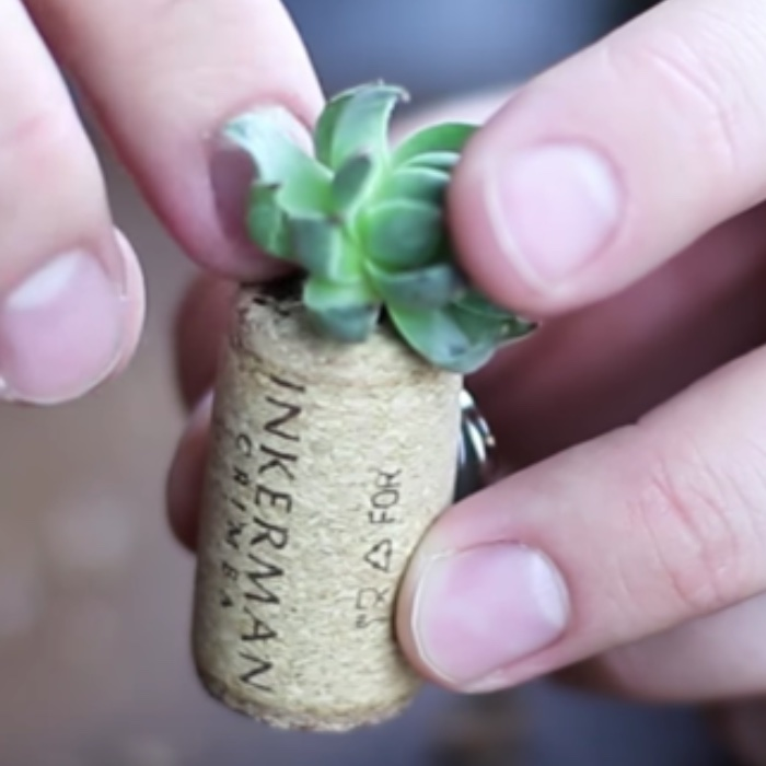 How To Make A Cork Fridge Magnet - Easy DIY Fridge Magnet - Michaels Craft Store Ideas