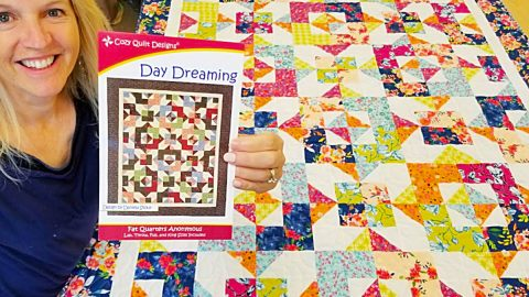 Fat Quarter Day Dreaming Quilt With Donna Jordan   DIY Joy Projects and Crafts Ideas