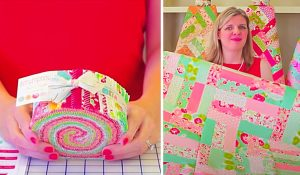 Jelly Roll Jam Ideas With Free Pattern