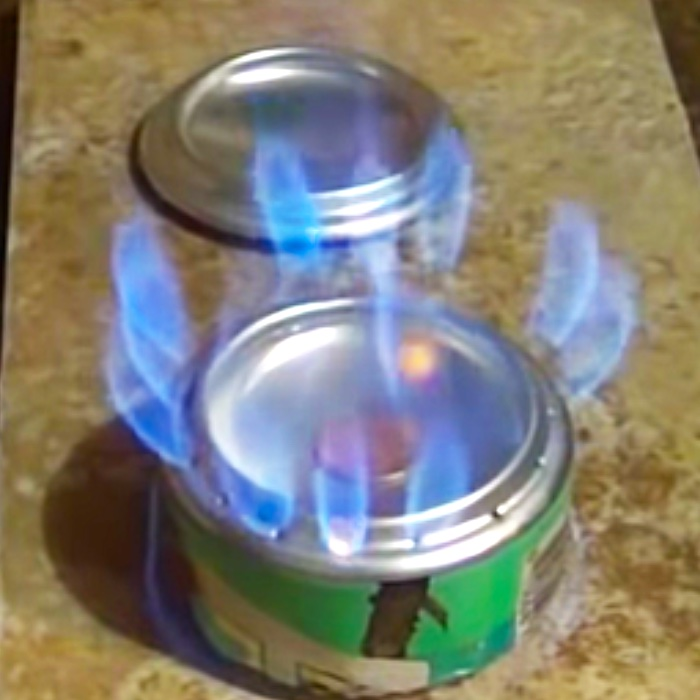 How To Make A Can Penny Stove - Arizona Iced Tea Stove - How To Make A Homemade Stove