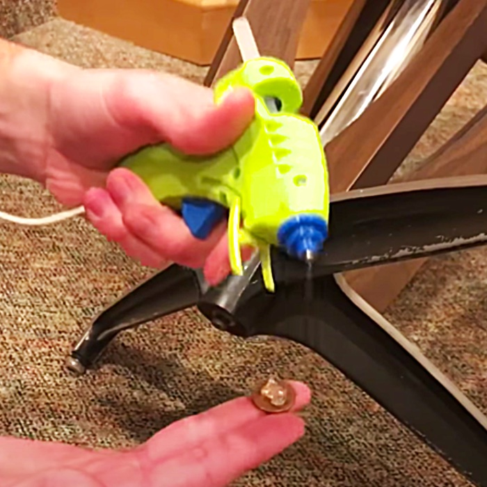 Easy Table Fix - Furniture Hacks - How To Fix A Table In Minutes