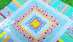 How To Make A One-Day Scrappy Quilt