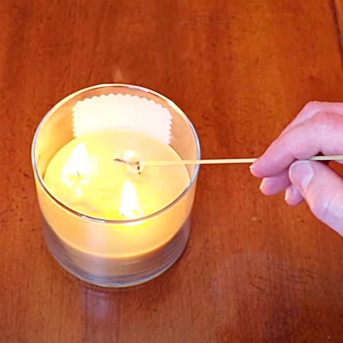 How To Light Candles With Spaghetti - Easy Candle Lighting Method - Use Spaghetti To Light Candles