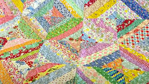 How To Make An Easy String Quilt   DIY Joy Projects and Crafts Ideas