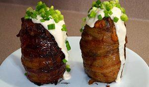 Volcano-Baked Potatoes Recipe