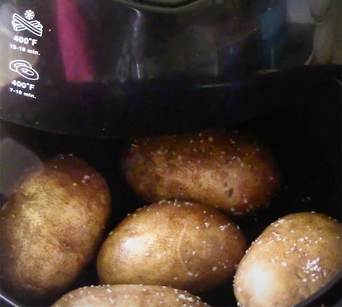 How to make air fryer potato skins - Potato skins recipe