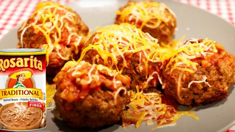 Baked Beef And Bean Meatball Recipe | DIY Joy Projects and Crafts Ideas