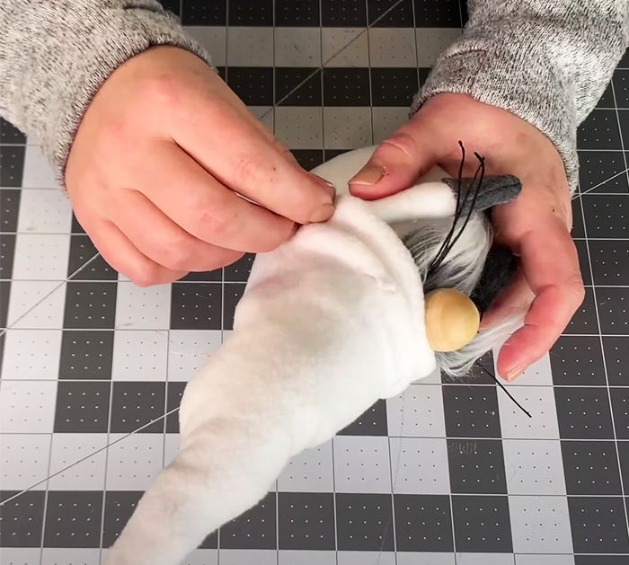 DIY Easter Bunny Gnome Craft - Sewing Crafts - Easter Bunny Crafts - Sewing Projects