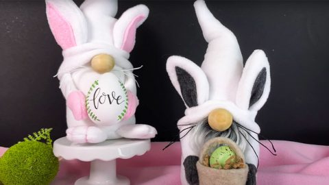 DIY Easter Bunny Gnome | DIY Joy Projects and Crafts Ideas