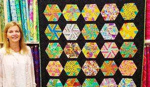 Donna Jordan's Hexagon Pinwheels Quilt With Free Pattern