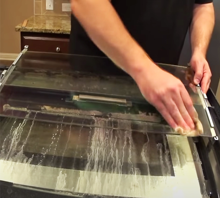 How To Take Apart an Oven door and clean it - Cleaning Oven Door Glass - Self Cleaning Tips and Tricks