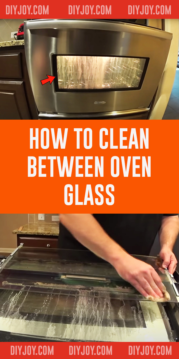 How To Clean Between Oven Glass - Oven Glass Cleaning Tips