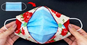 How To Make Surgical Cover Face Mask