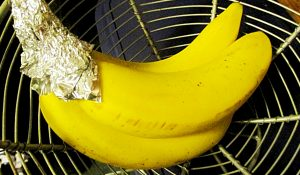 How To Keep Bananas Fresh With Foil